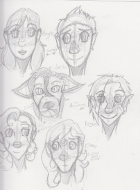 OC Head Sketches 2