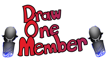 DRAW ONE MEMBER LOGO